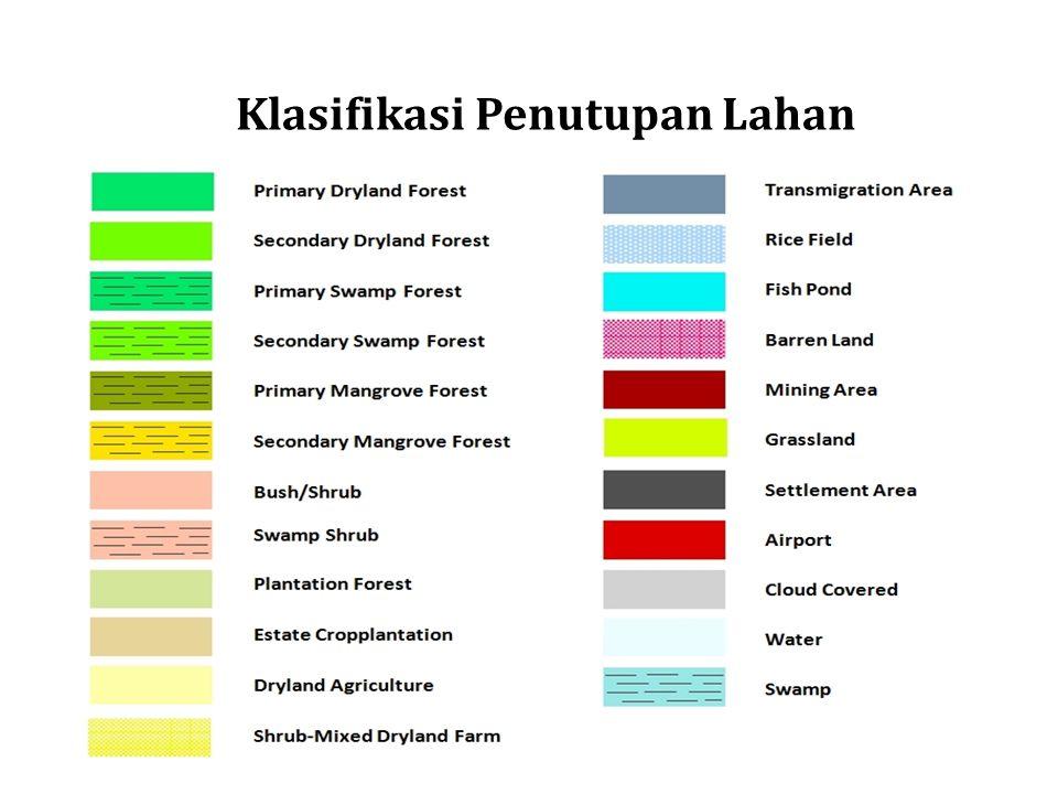 Klasifikasi Penutupan Lahan