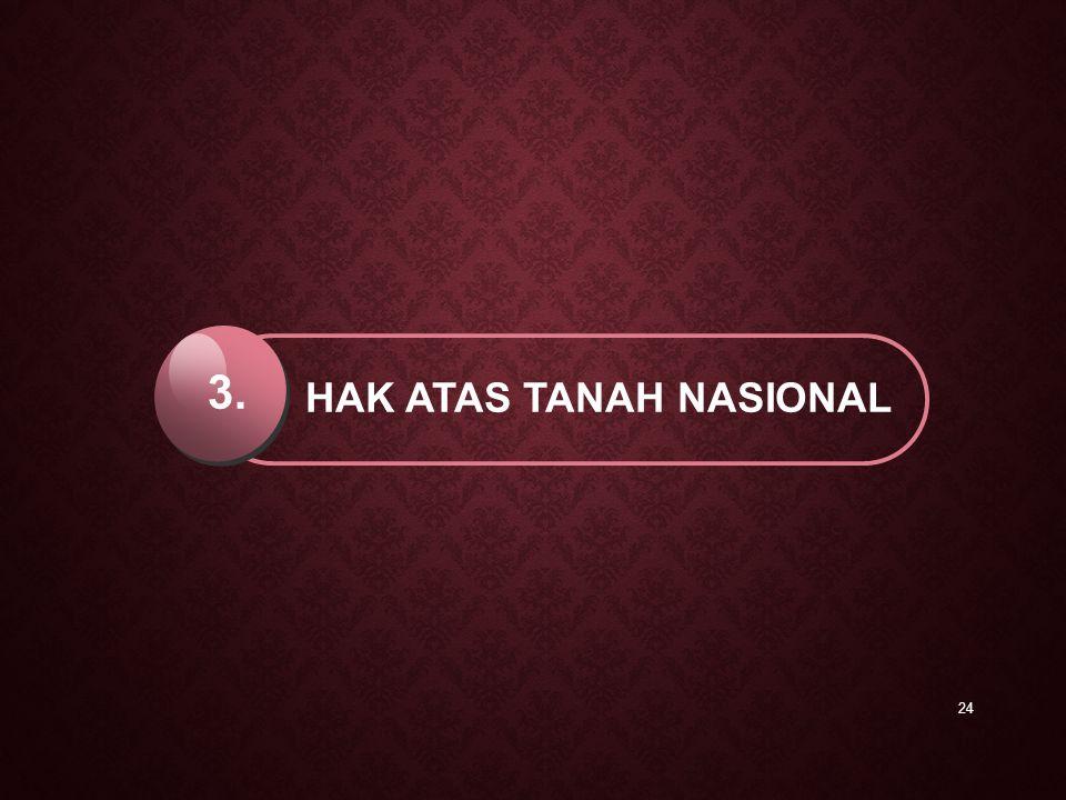 HAK ATAS TANAH NASIONAL