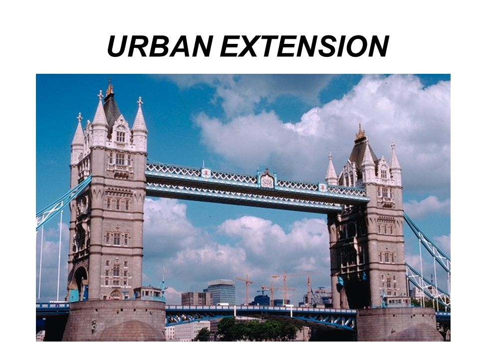 URBAN EXTENSION