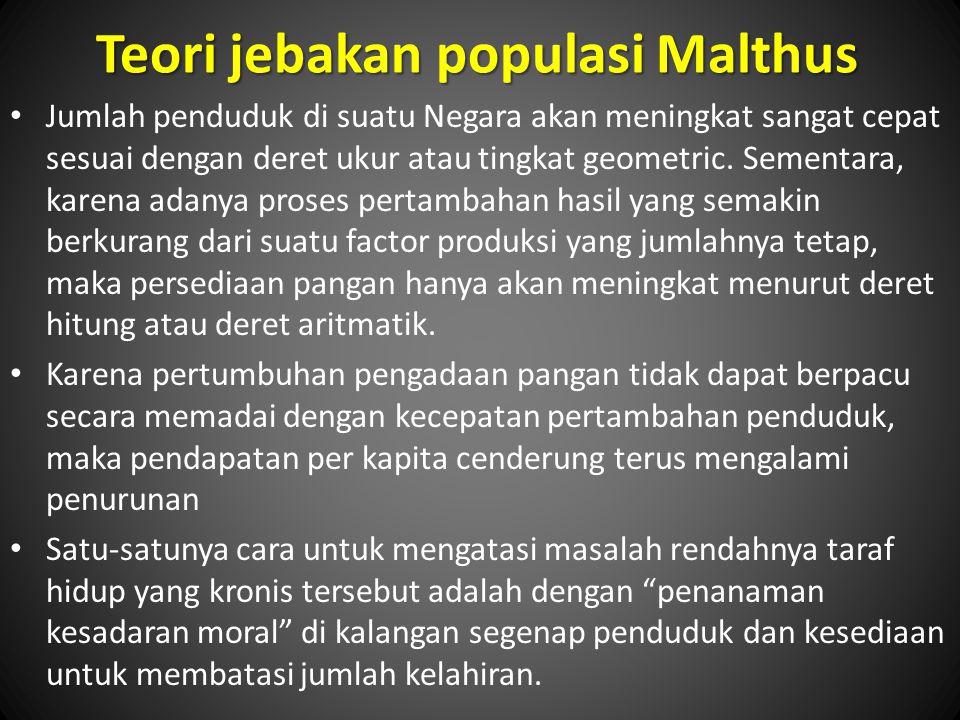 Teori jebakan populasi Malthus