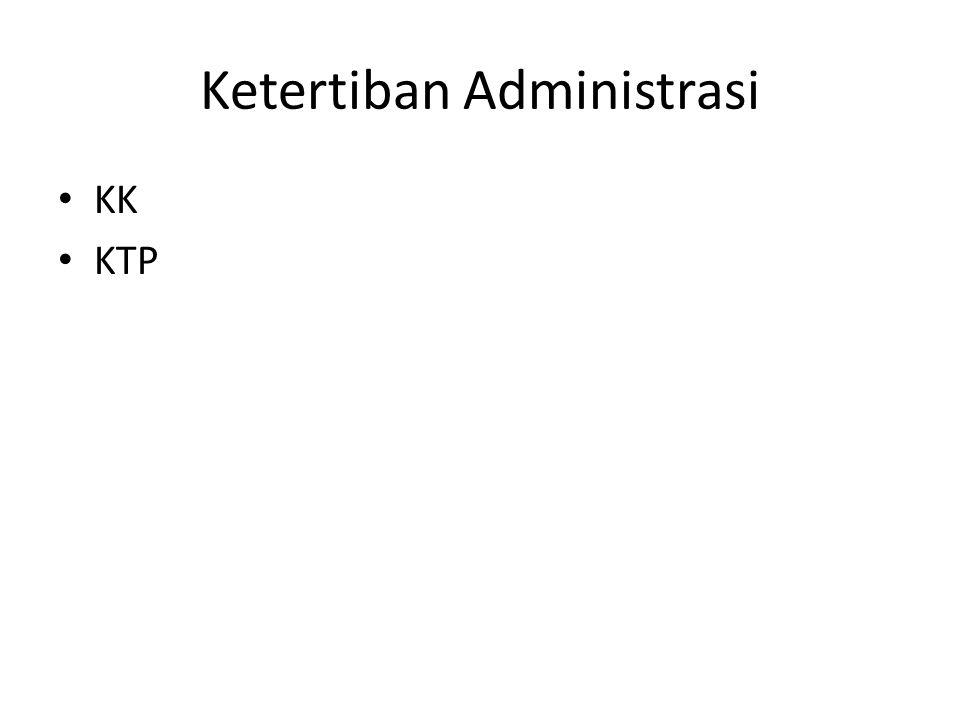 Ketertiban Administrasi