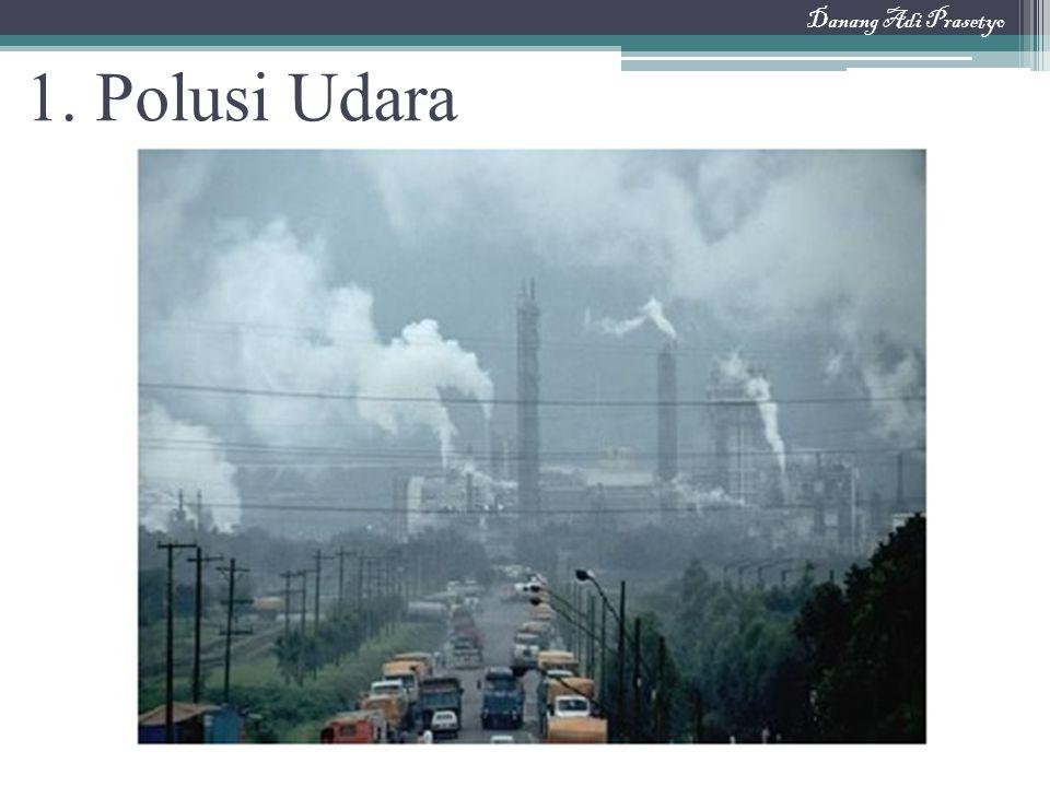 Danang Adi Prasetyo 1. Polusi Udara
