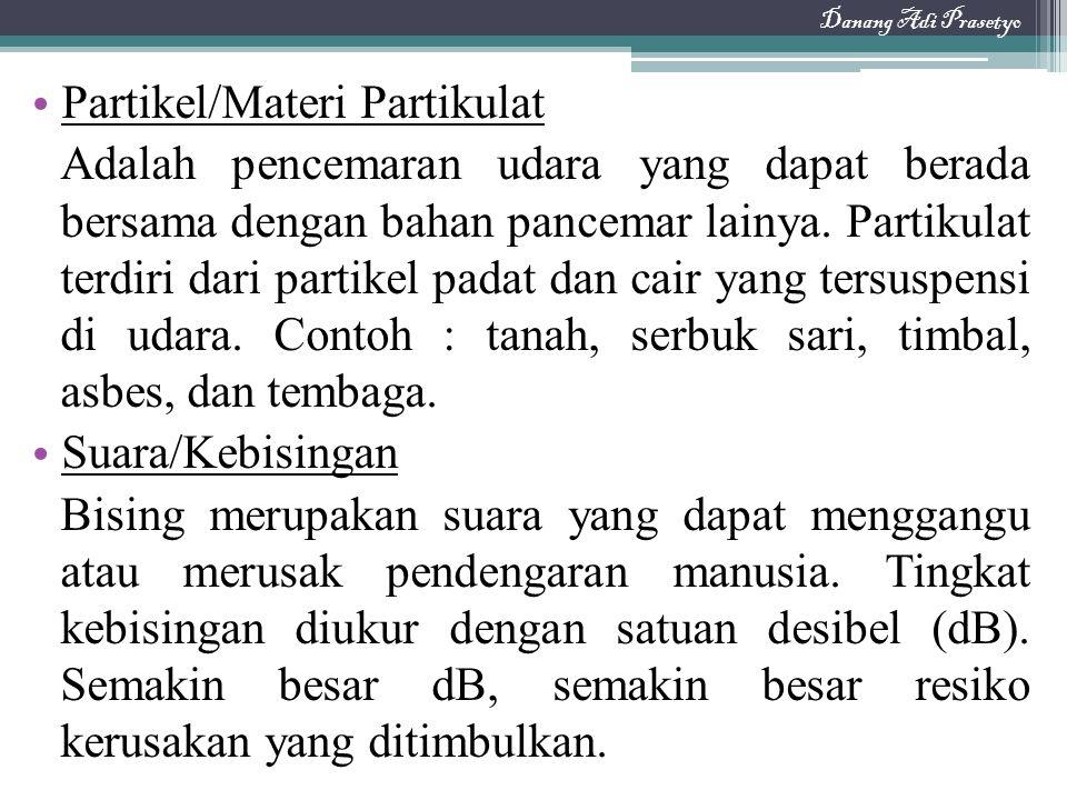 Partikel/Materi Partikulat