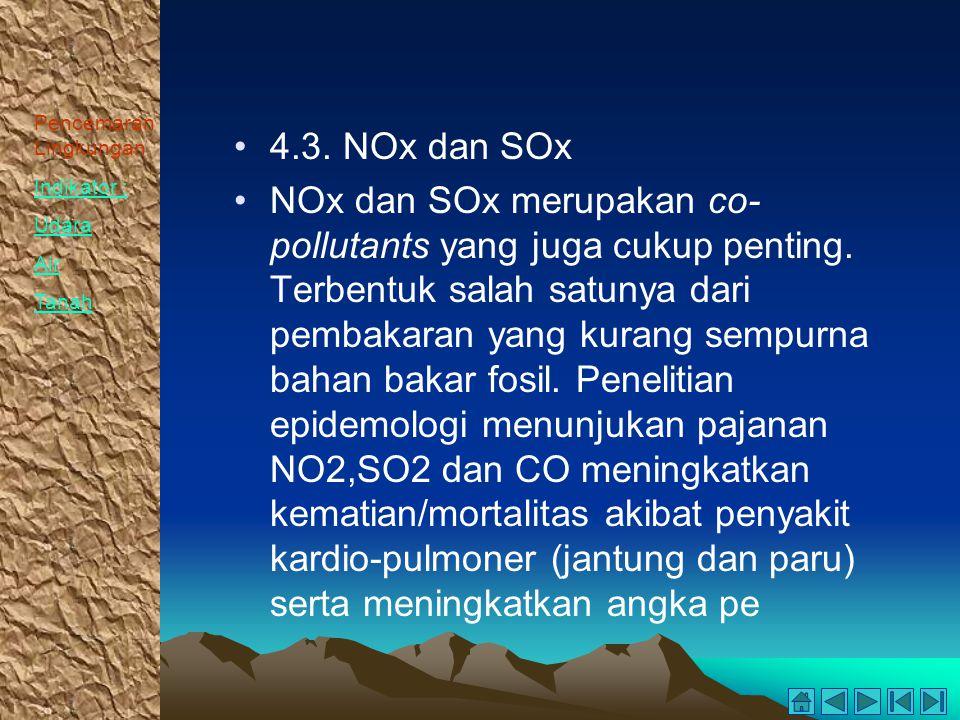 4.3. NOx dan SOx