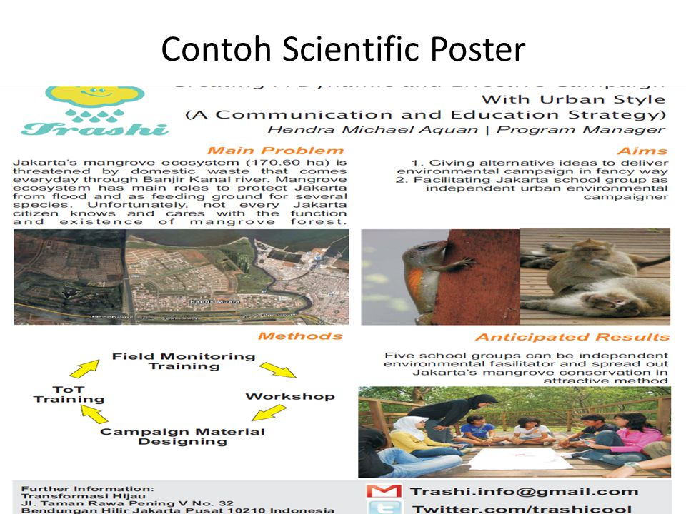 Contoh Scientific Poster