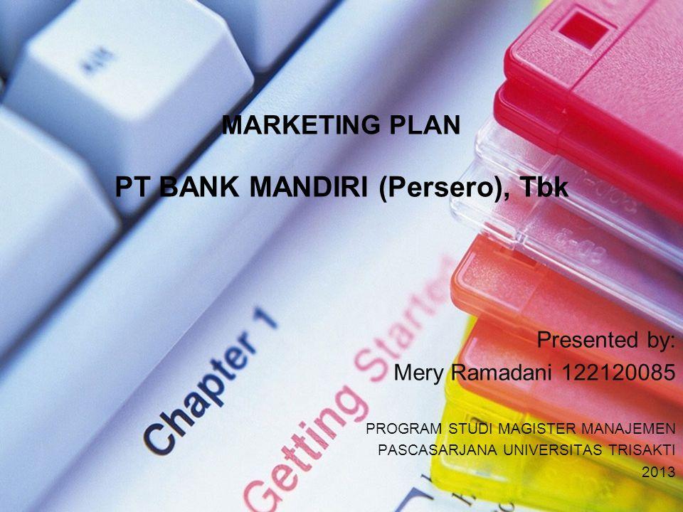 PT BANK MANDIRI (Persero), Tbk