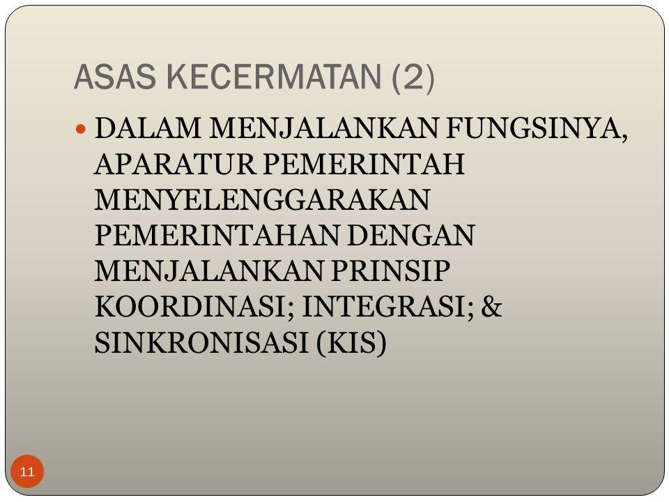 ASAS KECERMATAN (2)
