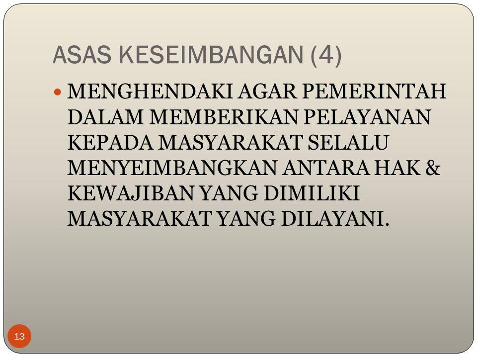 ASAS KESEIMBANGAN (4)