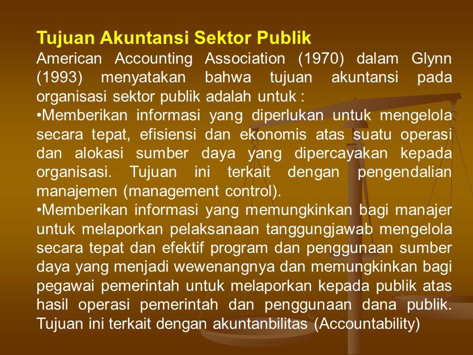 Tujuan Akuntansi Sektor Publik