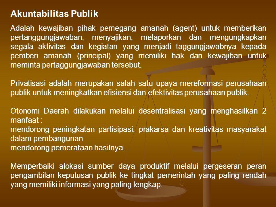 Akuntabilitas Publik
