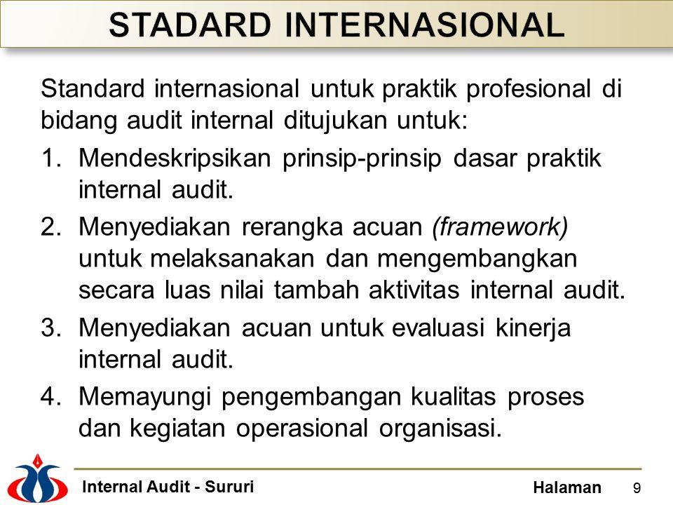 STADARD INTERNASIONAL