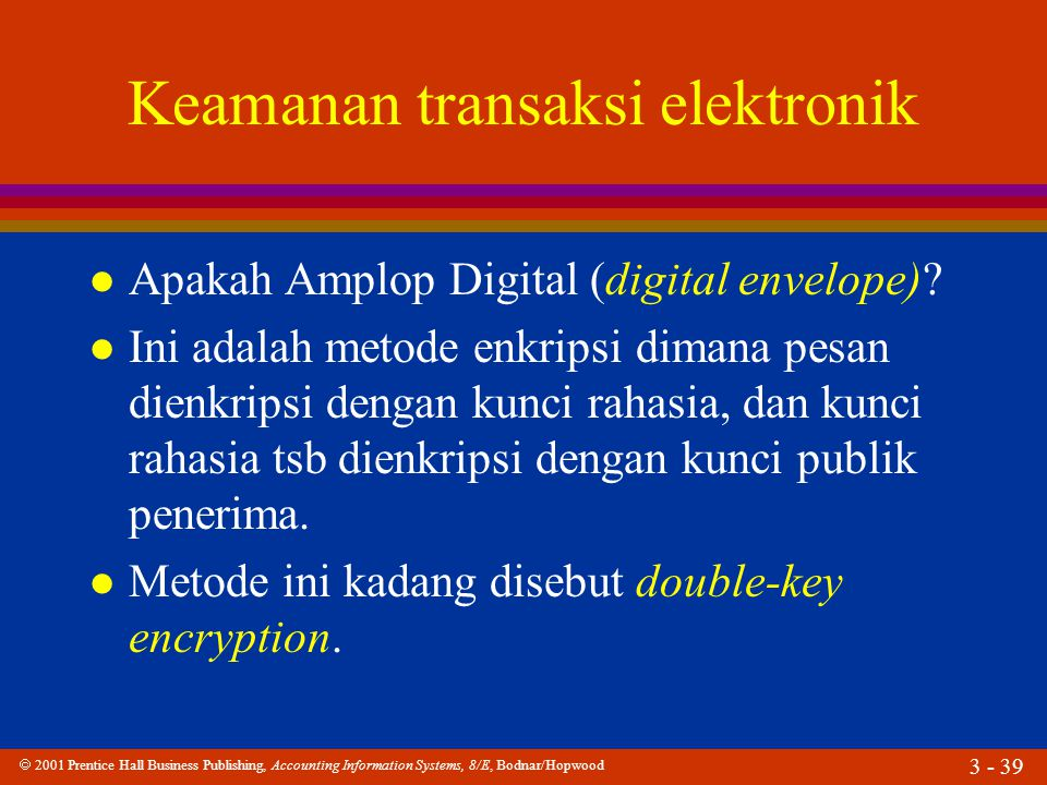 Keamanan transaksi elektronik