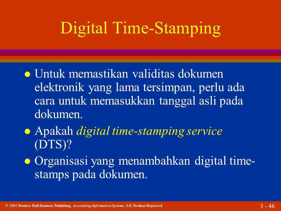 Digital Time-Stamping