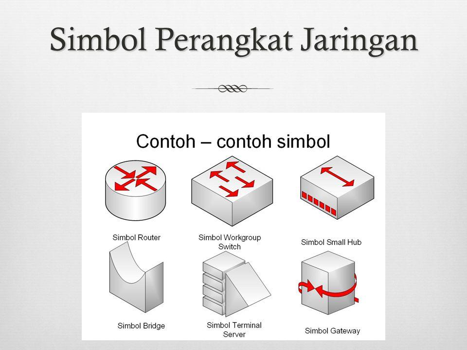 Simbol Perangkat Jaringan