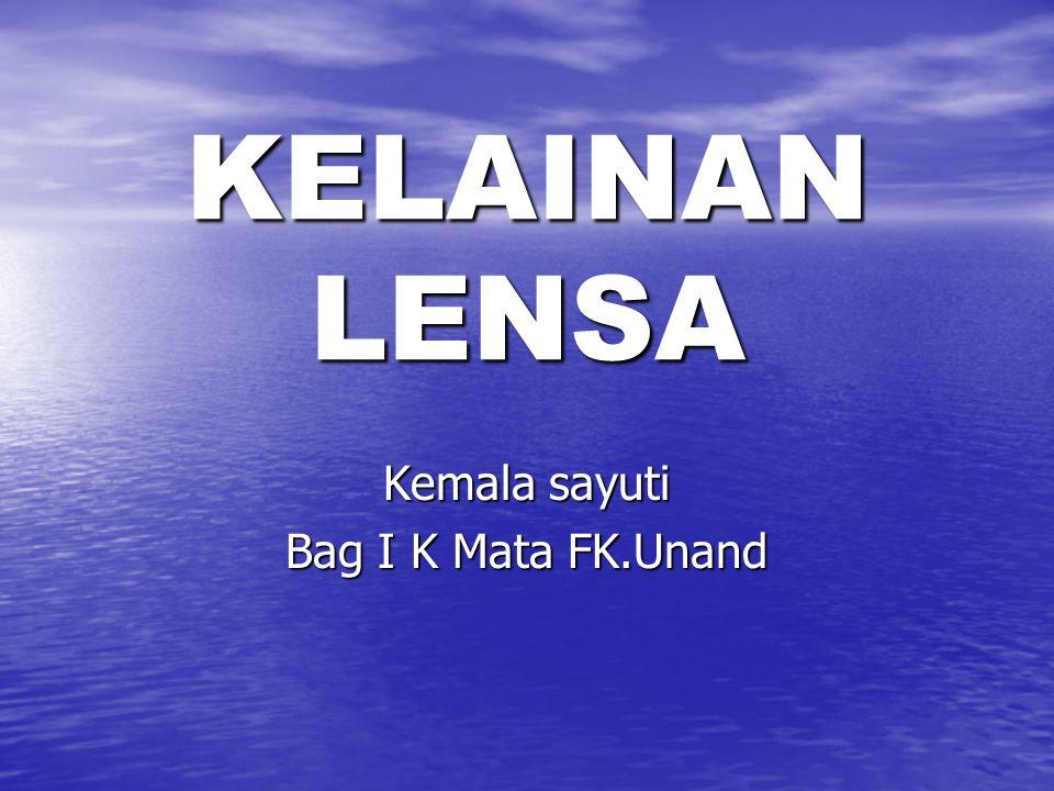Kemala sayuti Bag I K Mata FK.Unand