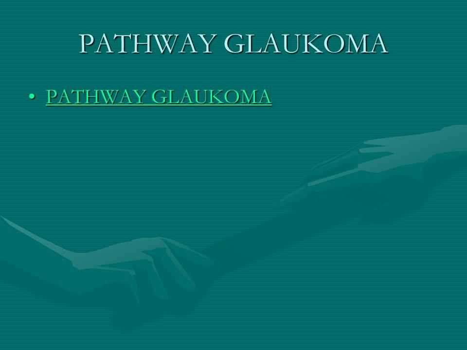 PATHWAY GLAUKOMA PATHWAY GLAUKOMA