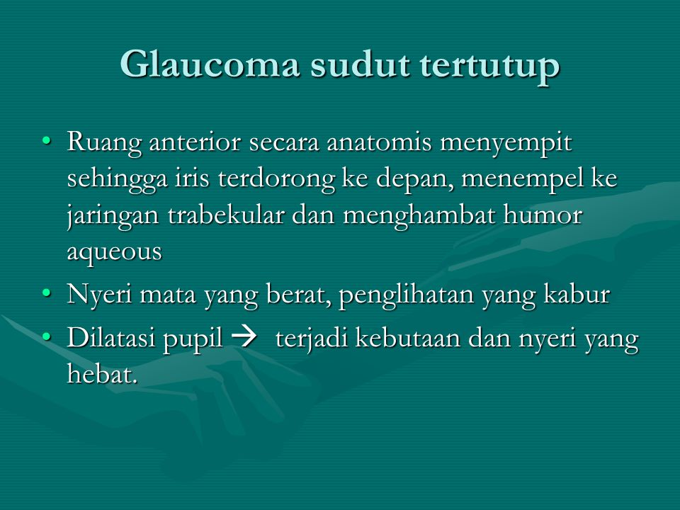 Glaucoma sudut tertutup