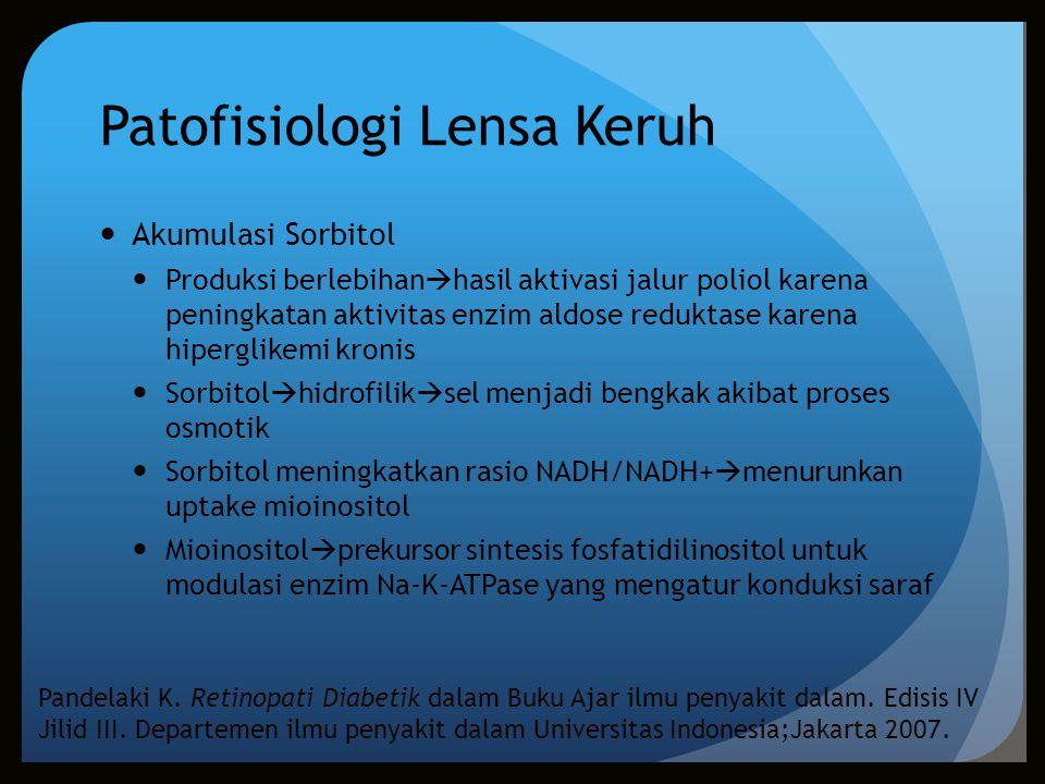 Patofisiologi Lensa Keruh