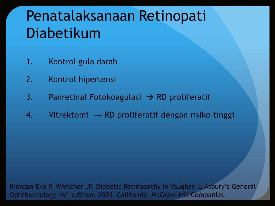 Penatalaksanaan Retinopati Diabetikum