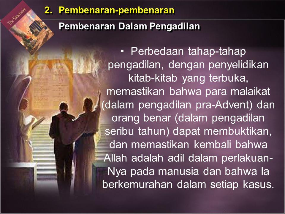 2. Pembenaran-pembenaran