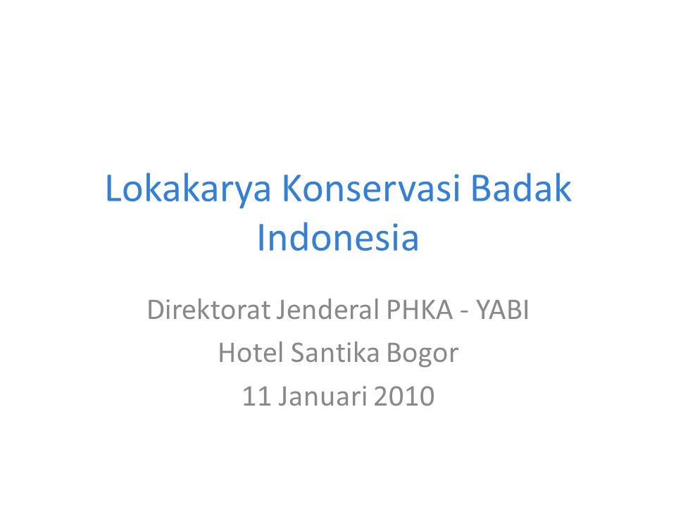 Lokakarya Konservasi Badak Indonesia