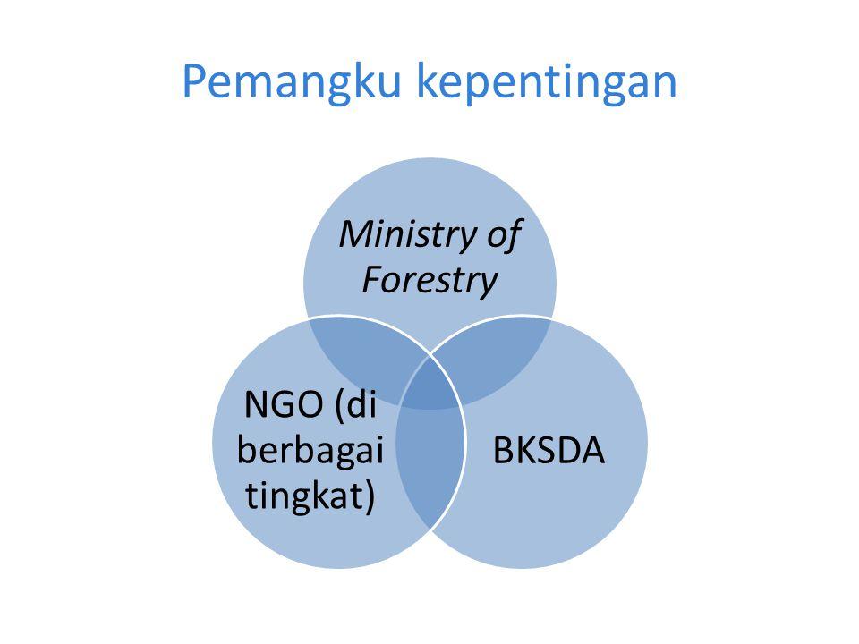 NGO (di berbagai tingkat)