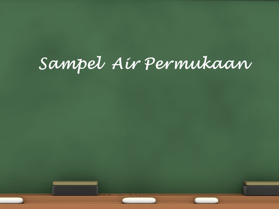 Sampel Air Permukaan