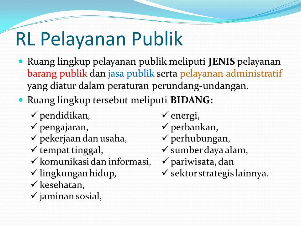 RL Pelayanan Publik