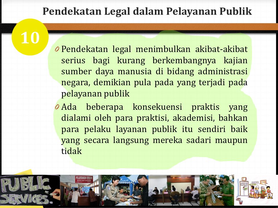 Pendekatan Legal dalam Pelayanan Publik