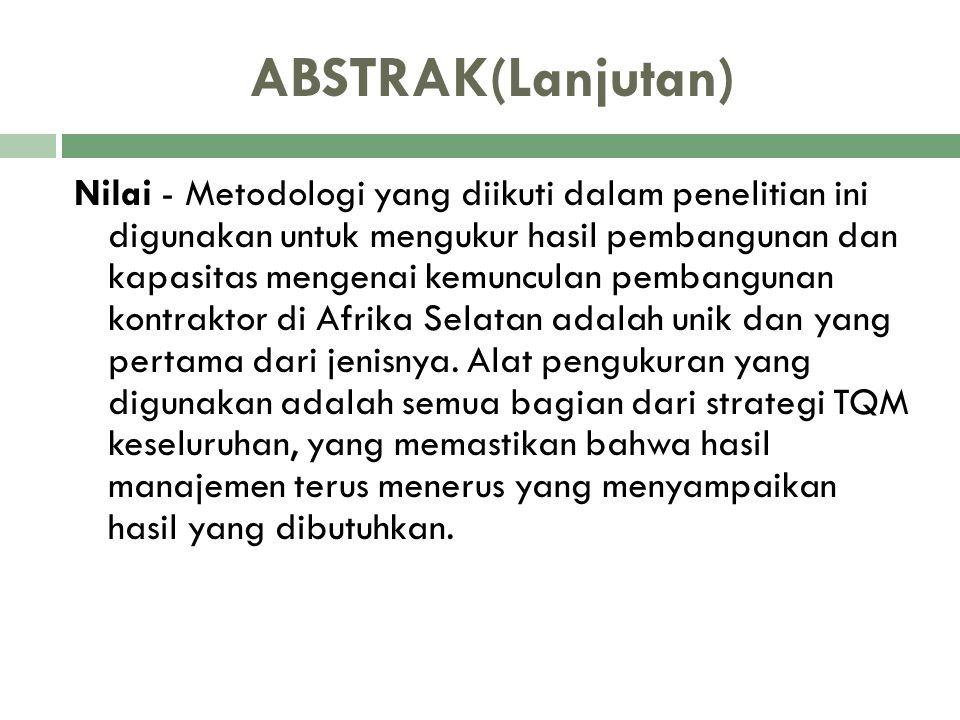 ABSTRAK(Lanjutan)