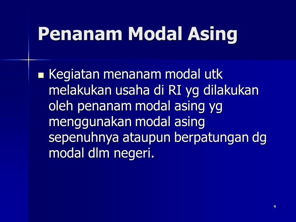 Penanam Modal Asing