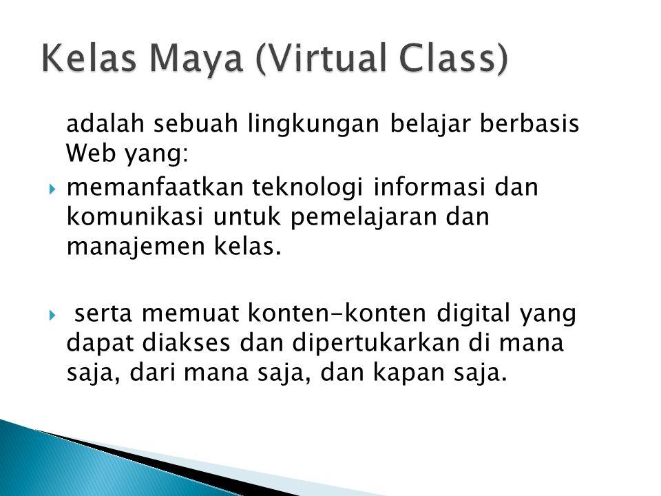 Kelas Maya (Virtual Class)