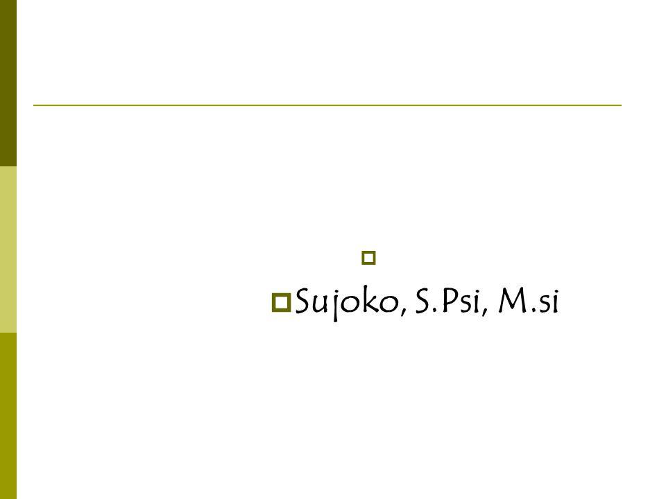 Sujoko, S.Psi, M.si