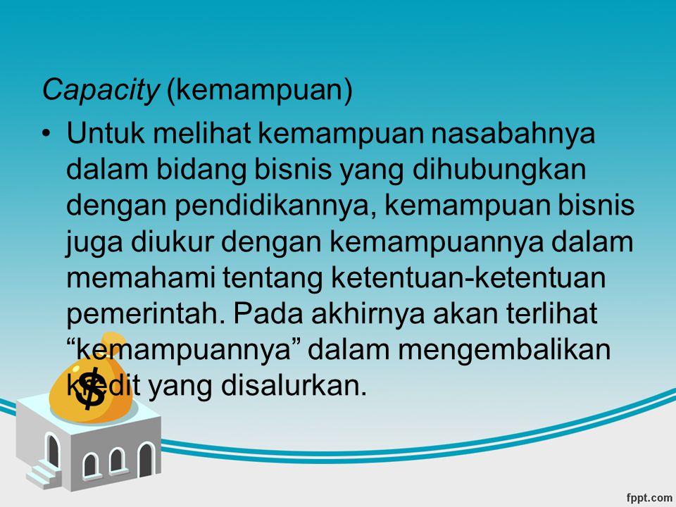 Capacity (kemampuan)