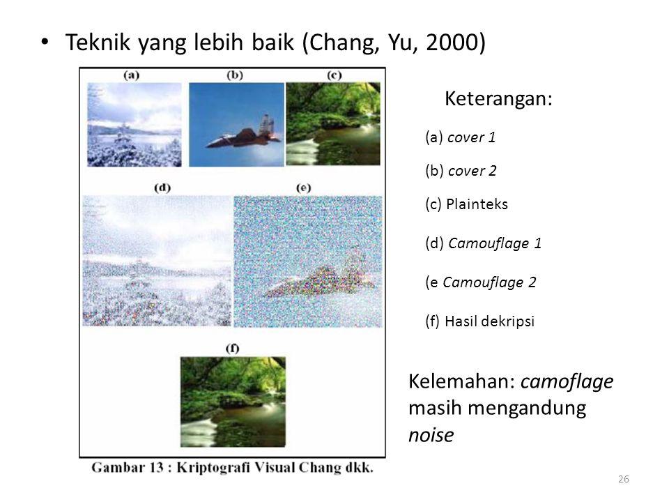 Teknik yang lebih baik (Chang, Yu, 2000)