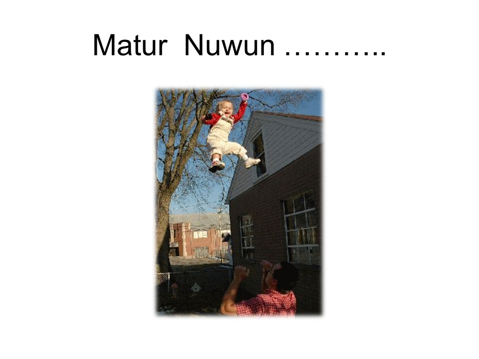 Matur Nuwun ………..