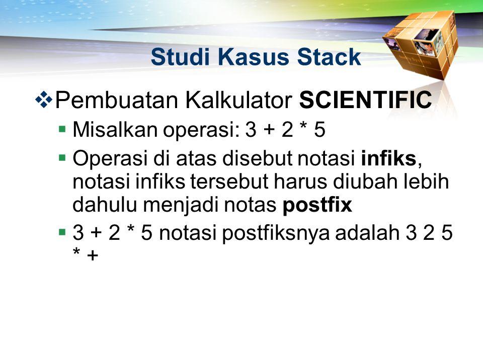 Pembuatan Kalkulator SCIENTIFIC