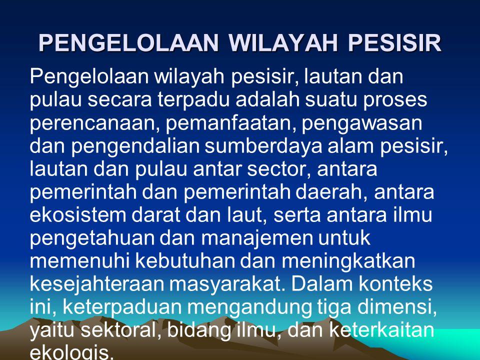 PENGELOLAAN WILAYAH PESISIR