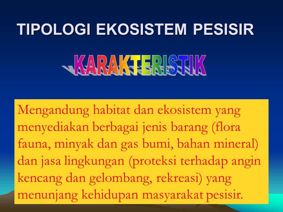 TIPOLOGI EKOSISTEM PESISIR