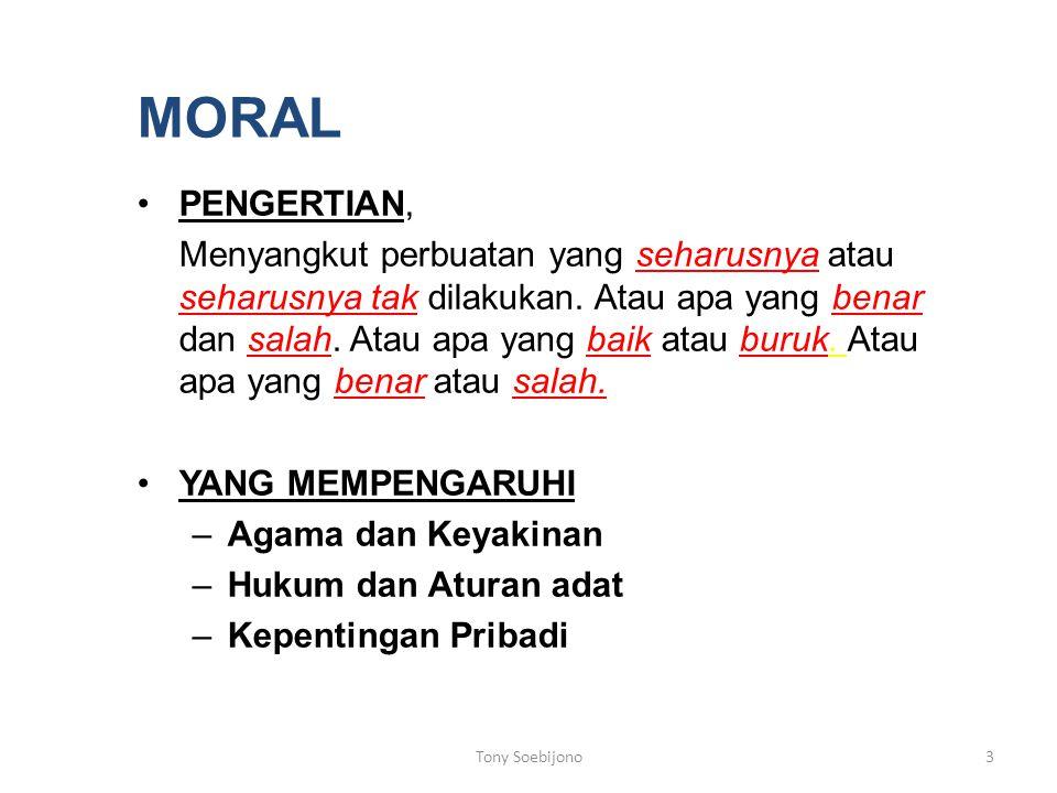 MORAL PENGERTIAN,