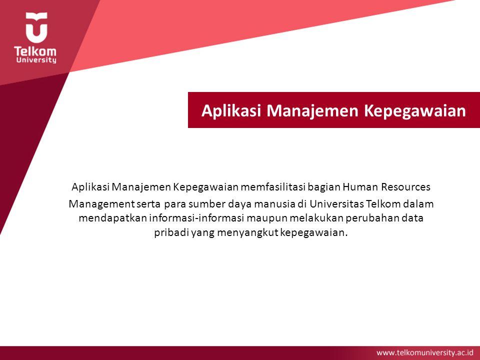 Aplikasi Manajemen Kepegawaian