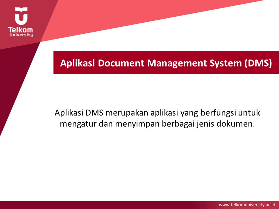 Aplikasi Document Management System (DMS)