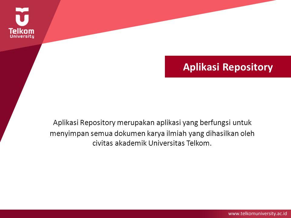 Aplikasi Repository