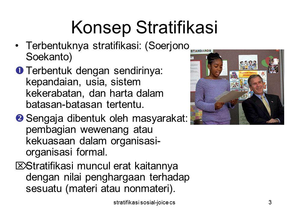 stratifikasi sosial-joice cs