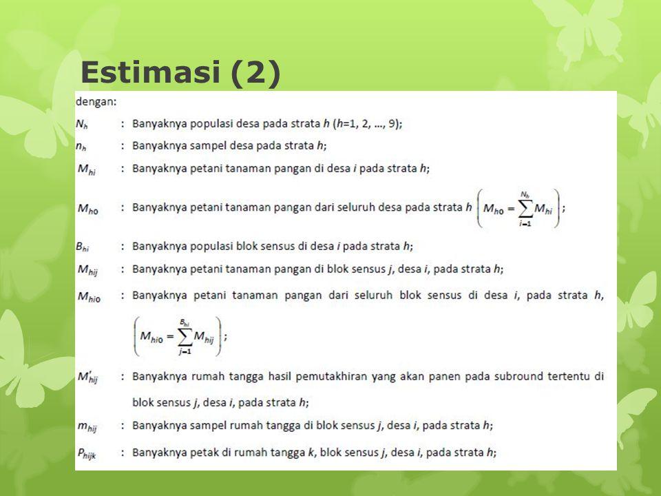 Estimasi (2)