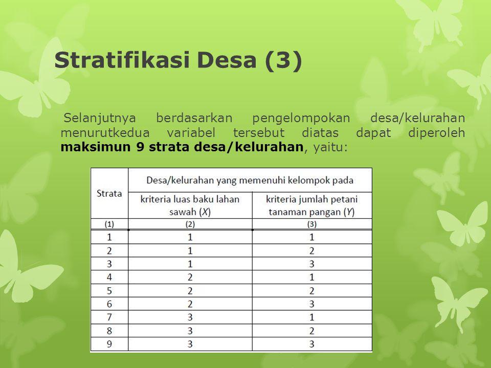 Stratifikasi Desa (3)