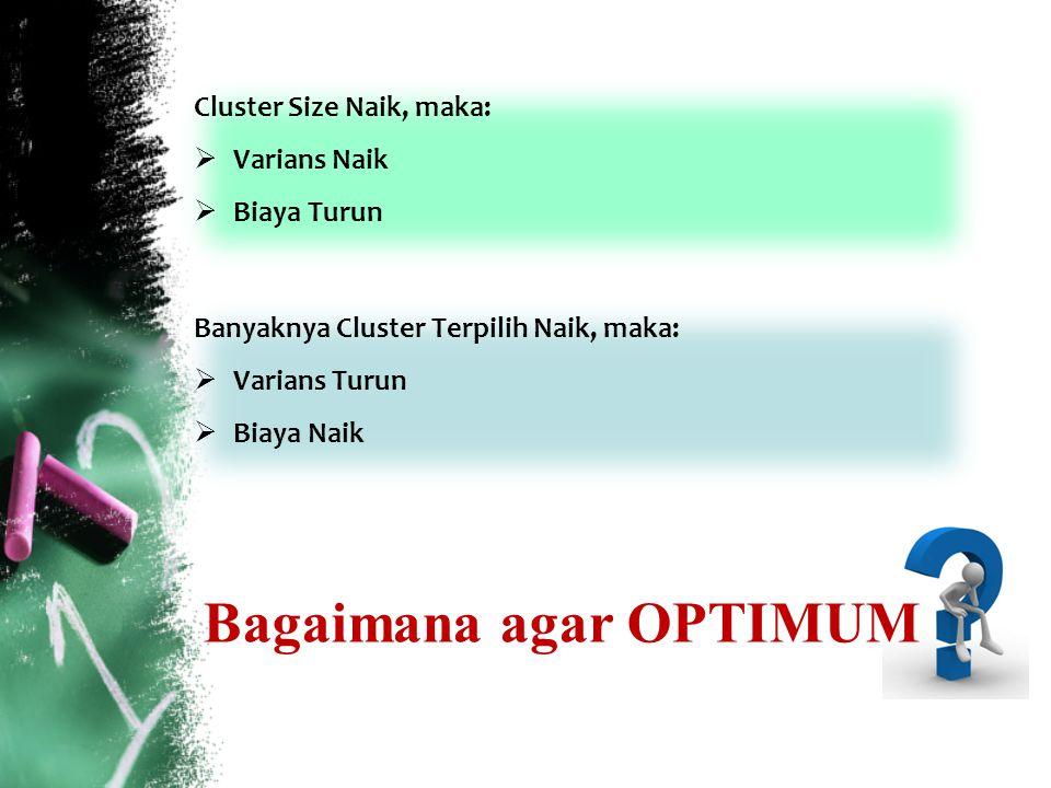 Bagaimana agar OPTIMUM