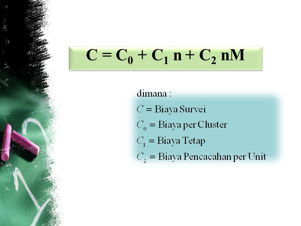 C = C0 + C1 n + C2 nM