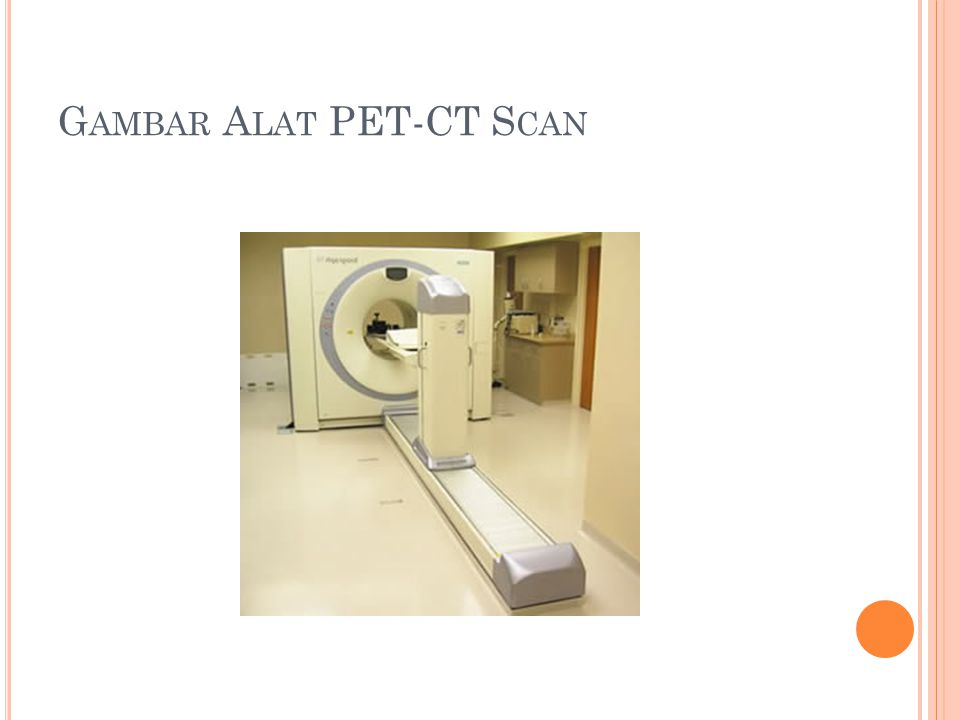 Gambar Alat PET-CT Scan