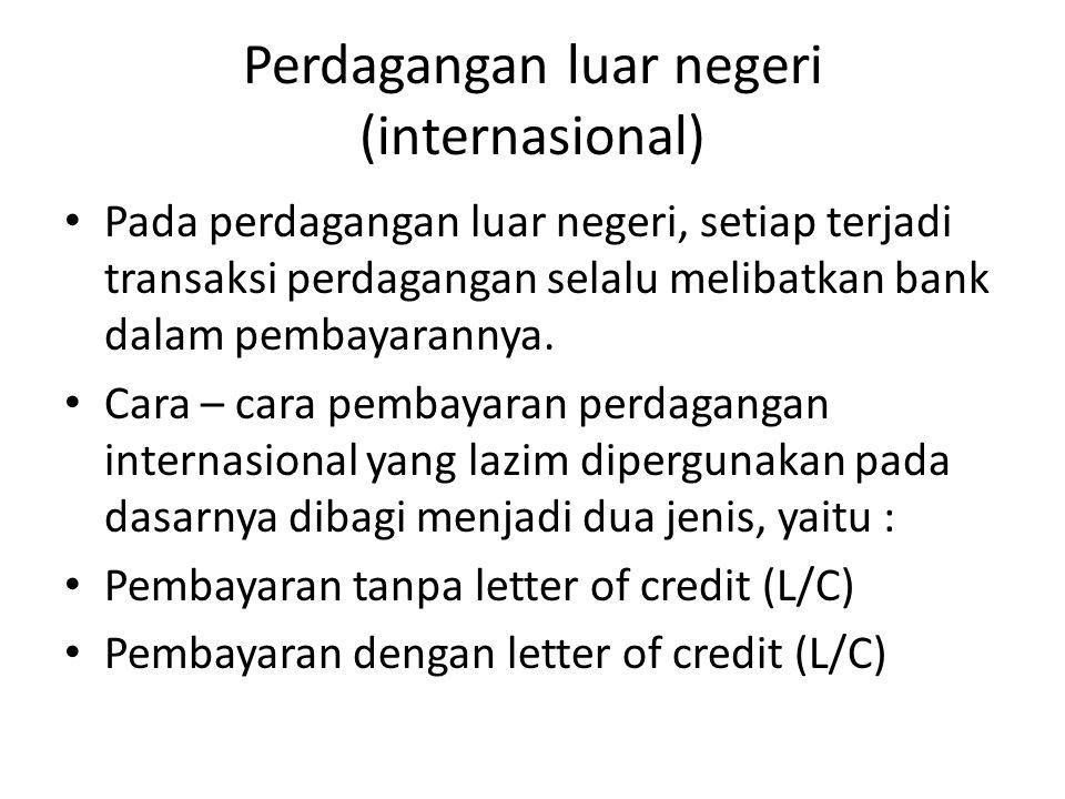 Perdagangan luar negeri (internasional)